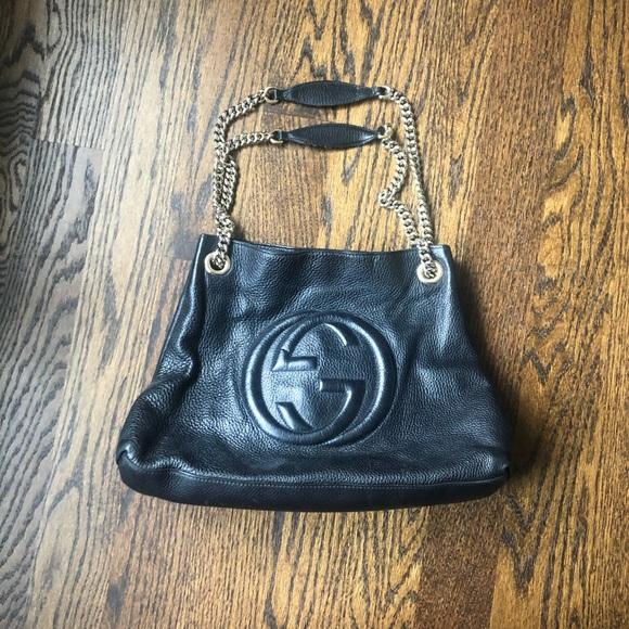 Gucci Handbags - Gucci Soho Shoulder Bag with Chain